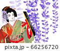歌舞伎の「藤娘」 66256720