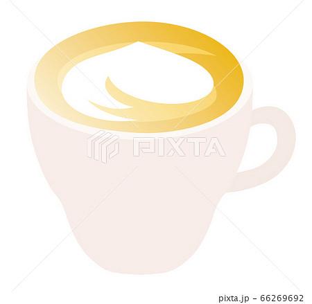 ラテのイラストのイラスト素材 [66269692] - PIXTA