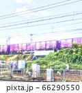 草刈りをする路線作業風景【JR山陽本線】 66290550
