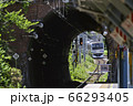 田浦トンネル【JR横須賀線E217系】田浦駅 66293405