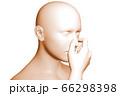 鼻詰まり 66298398