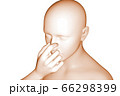 鼻詰まり 66298399