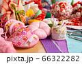 つるし飾りの製作 和布の小物を縫う さがりもののモチーフいろいろ 66322282