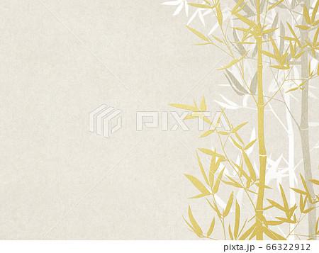 竹をモチーフとした和紙の背景 66322912