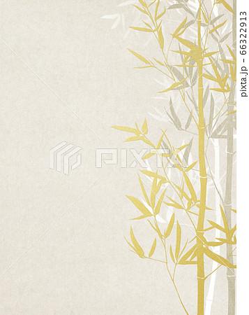 竹をモチーフとした和風の背景 66322913