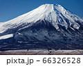 山中湖・平尾山から見る富士山 66326528