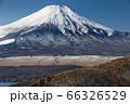 山中湖・平尾山から見る富士山 66326529