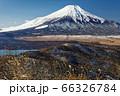 石割山から見る初冬の富士山 66326784