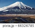 石割山から見る初冬の富士山 66326785