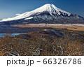 石割山から見る初冬の富士山 66326786