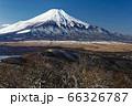 石割山から見る初冬の富士山 66326787