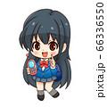 ガラケーと女子高生_SD 66336550