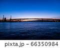 大阪ベイエリアの夕暮れ 66350984