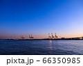 大阪ベイエリアの夕暮れ 66350985