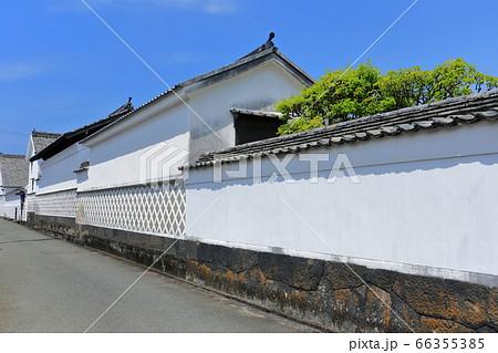 【山口県】晴天下の萩 菊屋横丁 66355385