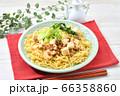 オリジナル料理のマーボー焼きそば、麻婆ヤキソバ、麻婆焼そば。 66358860