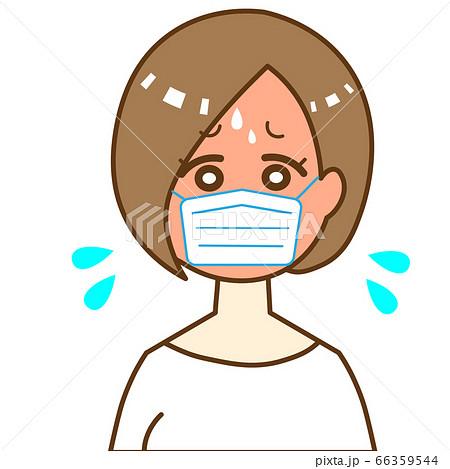 マスク熱中症  66359544