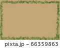 葉っぱの枠のメッセージボード 66359863