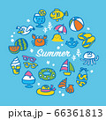 海のアイコンセット 66361813