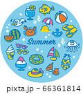 海のアイコンセット 66361814