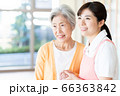 介護 女性 病院 ヘルパー 介護士 シニア 66363842