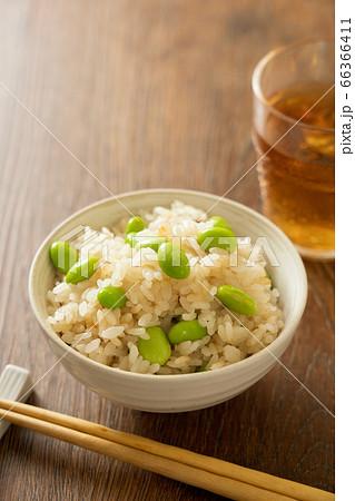 枝豆ご飯 66366411