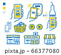 Stores that support smartphone payment and 66377080