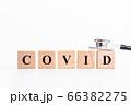 COVID アルファベットの文字 66382275