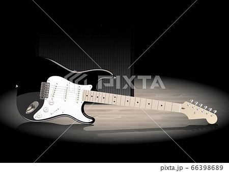 ギターとアンプ 66398689