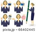 お金女性セット 66402445