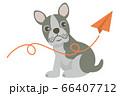 犬 いぬ イヌ dog フレンチブルドッグ ブルドッグ ペット 動物 イラスト 66407712