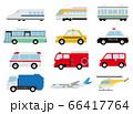 いろいろな乗り物 飛行機 66417764