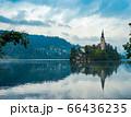 スロベニア ブレッド湖の聖マリア教会 66436235