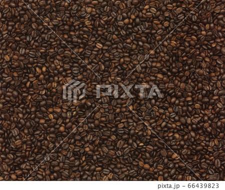 コーヒー豆 バック黒 66439823