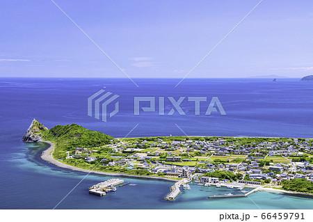立石山から見た糸島の美しい風景 福岡県糸島市 66459791