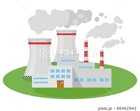 原子力発電所 66462943