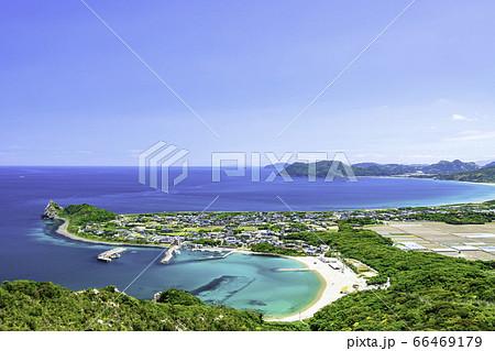 立石山から見た糸島の美しい風景 福岡県糸島市 66469179