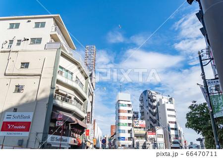 【羽田空港新ルート】旅客機が都心上空を飛行する 代々木駅付近 66470711