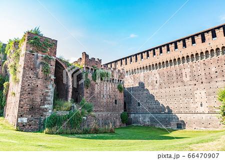 ミラノ スフォルツェスコ城またはスフォルツァ城 66470907