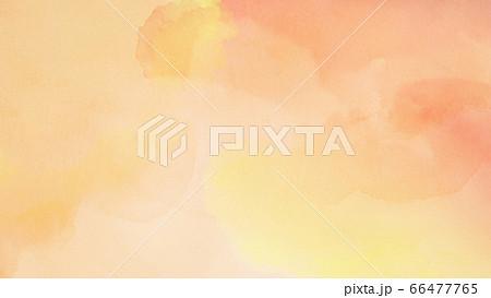 オレンジ色の背景素材 66477765