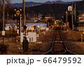 夕暮れの真岡鐵道 66479592