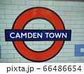 カムデンタウン駅の看板 66486654