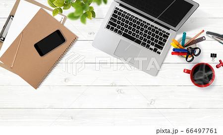 オフィスワークのイメージ素材 66497761