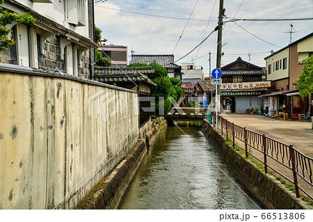 【懐かしい風景】西川と西大寺の町並み6 岡山県岡山市東区 66513806
