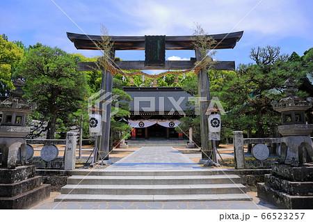 【山口県】新緑の松陰神社(松下村塾) 66523257