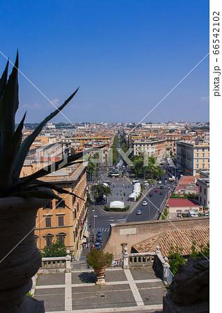 バチカン美術館からのぞむローマ市街(バチカン市国) 66542102