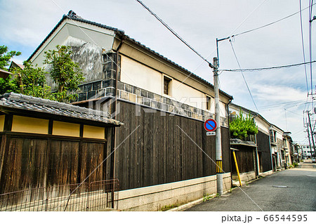 【懐かしい風景】西大寺の土蔵通り 岡山県岡山市東区 66544595