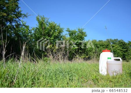 耕作放棄地と除草剤 66548532