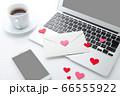 ラブレターとパソコン 66555922