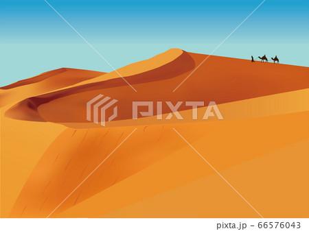 サハラ砂漠 66576043